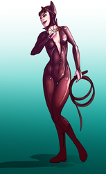 Catwoman by Mercvtio