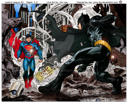 Justice League 2 Colored by Anny-bg