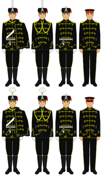AT  Husaren Regiment Nr.17 Uniform (2017) by DeutschesKaiserreich