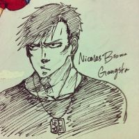 Nicolas Brown - Gangsta by Hope-chan00