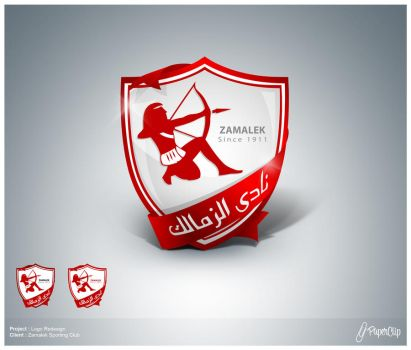 zamalek logo renewing 2 by mezoomar