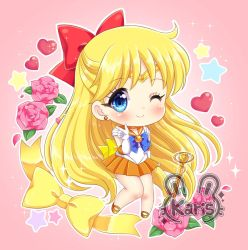 Sailor Venus Chibi by KARIS-coba