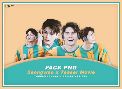 [PNG Pack #18] Wanna One Seongwoo x Teaser Movie by yunniejacksonyi