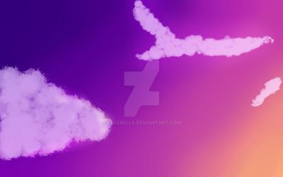 clouds by Cecebelle