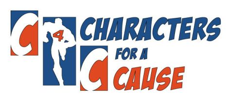 charictors for a cause logo by MONKEYkingDESIGNS