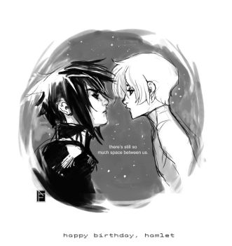 happy birthday hamlet by missveryvery