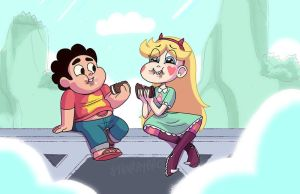 Steven And Star by StevenRayBrown