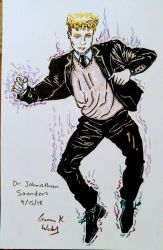 Dr. Johnathan Saunders floating by CopperSphinx