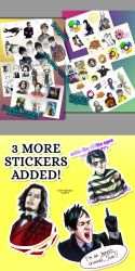 STICKERS GIVEAWAY by ajcrwl