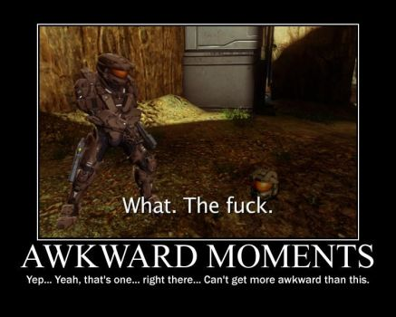Awkward Moments-RVB-(Motivational Poster) by XPvtCabooseX