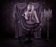 Gothic Doll by Autumns-Muse