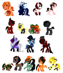 GC2Ponies by CharmingNightmare