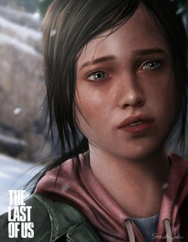 The Last of Us - ELLIE by Sheridan-J