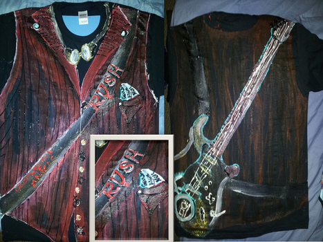 steam punk rush shirt by McCoy92