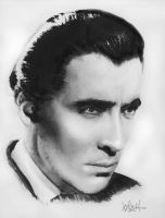 CHRISTOPHER LEE by woodywelch