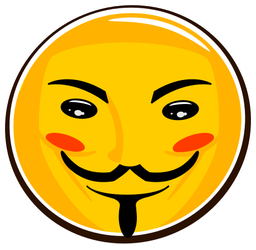 Little Anonymous Smiley by mondspeer