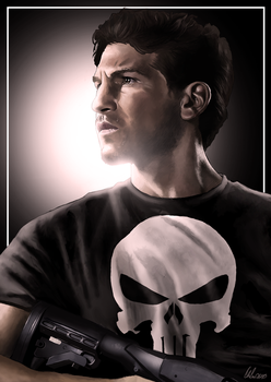 The Punisher by ChristopherOwenArt