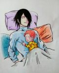 Redraw Yuu-chan's Day with Daddy by deadvampire32