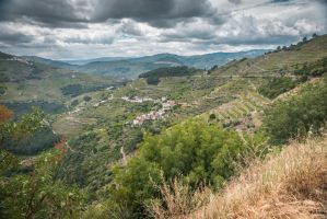 sweet Portugal - landscape in the North by Rikitza