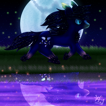 Redo of a old picture by Skythedragonwolf
