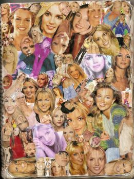 britney spears collage by Capture4rmHeart-Soul