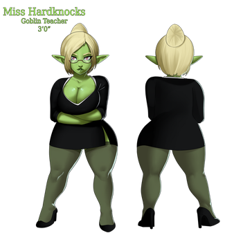 Miss Hardknocks Reference by SyntheticPotato