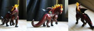 Phoenix Horse Dragon by MiniMythicalMonsters