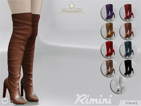 [MMD] Madlen Rimini Boots (+Download) by AppleWaterSugar