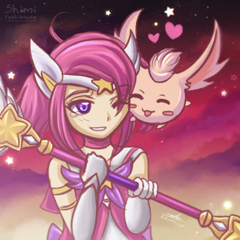 Star Guardian Lux and Mimi by Shimi34