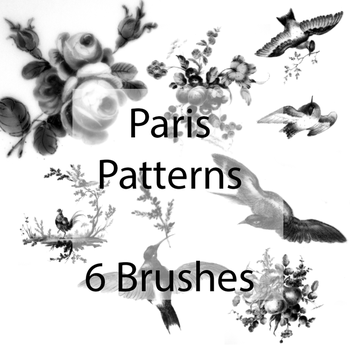 Paris brush pack by Random-Acts-Stock