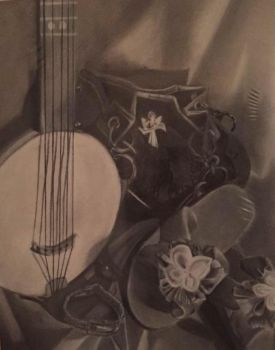 Charcoal Still Life by Muse-4-Life