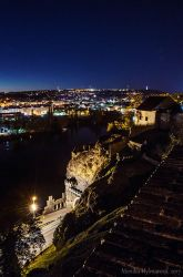 View from Vysehrad by amrodel