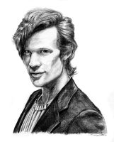 Matt Smith by TheLadyNerd