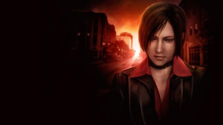 Ada Wong. Silence deafened by push-pulse