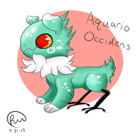 Ocean Breeze (Aquario Occidens) JolleRaptor MYO by Chippy95