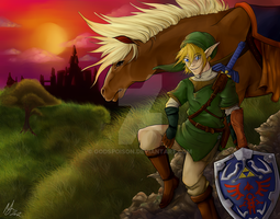 Legend Of Zelda -The Hero in Twilight- by Godspoison