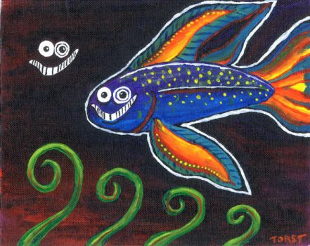 Happy Fishie by Rotter5