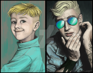 Butters- Before and After by SUCHanARTIST13