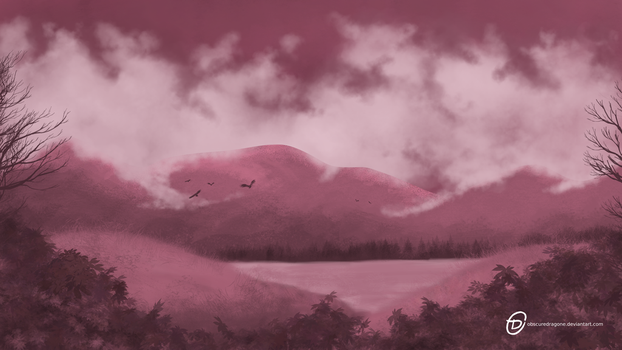 Some ugly landscape by ObscureDragone