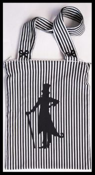 striped bag by MezhaMaate