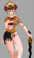 Barong Warrior [Without Wig] by artevoletia