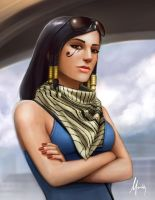 Pharah by Mauricio-Morali