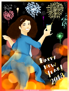 Happy New Year Greetings 2018! by Noracchi