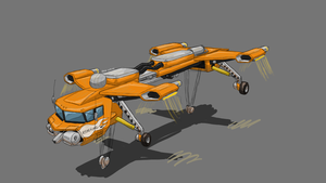The Repo King (hover crane) by ScottaHemi