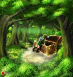 Link searching in a chest  -  1 / 2 by Ten-Tsuki