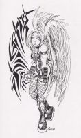 Tribal with Angel by ShamanMagic