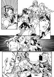 Commission ComicPage 2- The thief and the darkness by shonemitsu