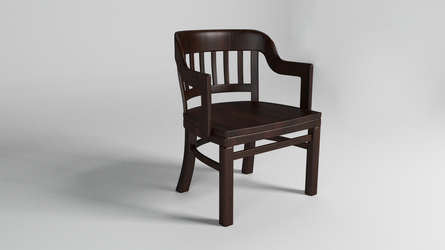 Wooden Chair. by gagsays