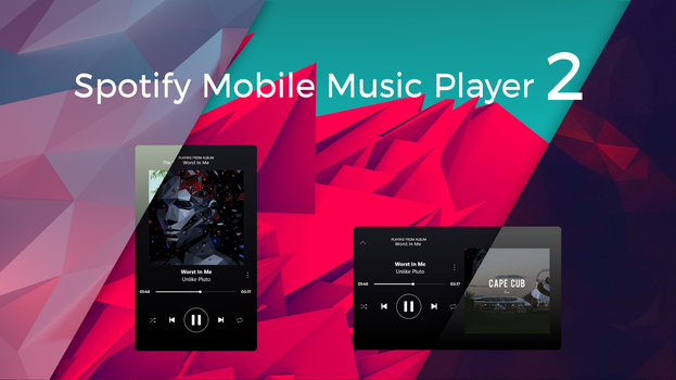 Spotify Mobile Music Player v2.01 by craftAA