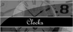 Clock Brushes by MissLittlewood